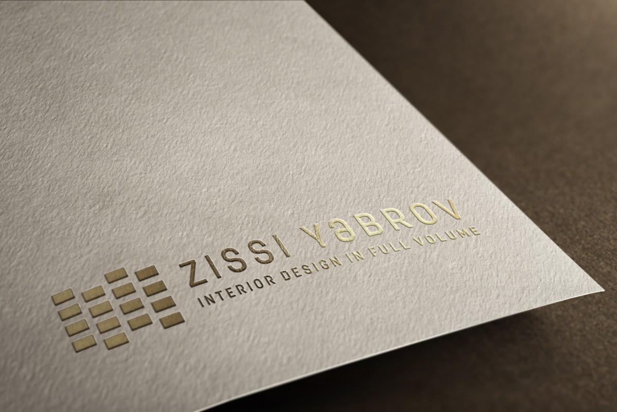מוקאפ לוגו הטבעה זהב על כרטיס לבן